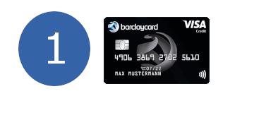 Barlaycard Visa erster Platz