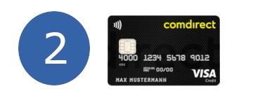comdirect Visa zweiter Platz