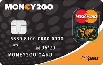 money2go card