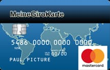 MeineGiroKarte Debit Mastercard Prepaid