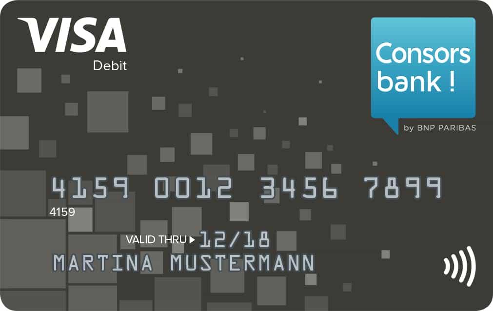 Visa Debit Consorsbank
